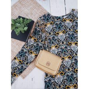 H&M Long Sleve Shift Dress Size 2